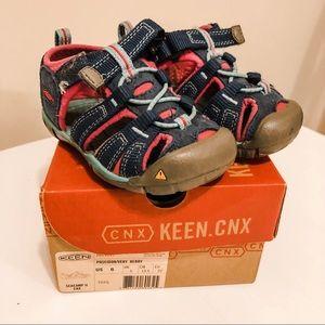 EUC Keen Seacamp II Toddler Size 6 Sandal